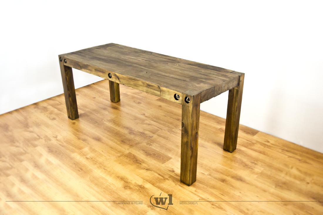 Massiver Holztisch Fr Wohnzimmer Oder Garten
